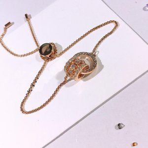 🎅SWAROVSKI FURTHER bracelet ROSE GOLD
